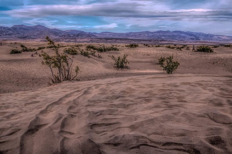 Death Valley Sand Patterns